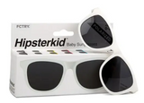 Hipster Kid Classic Sunglasses - White