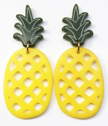 Pineapple Earrings - 2 sizes