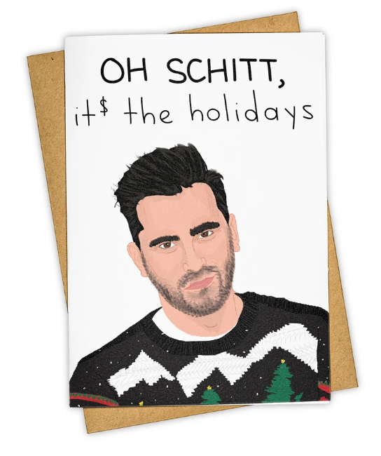 Holiday Schitt Holiday Card