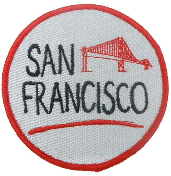 San Francisco Iron On Patch