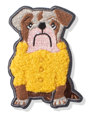 Sweater Bull Dog Patch