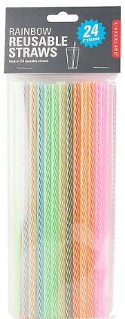 Rainbow Reusable Straws 8