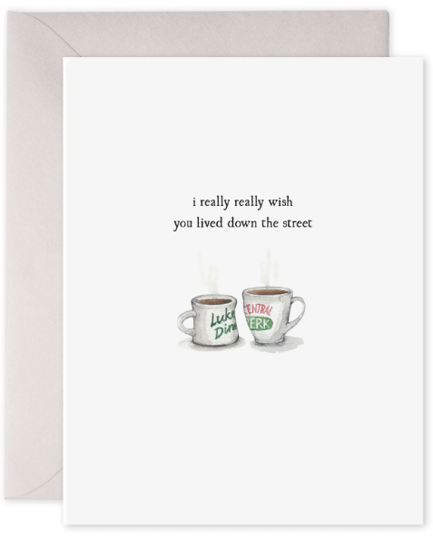 Coffee Cups - Friendship Card