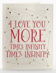 I Love You More Times Infinity Times Infinity