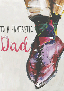 Fantastic Dad Shoes - Father's Day Card