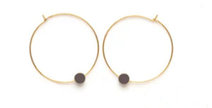 Color Story Hoops - Vintage Lavender