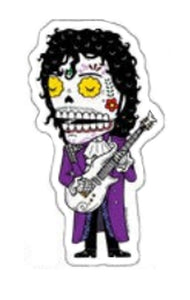 Prince Sugar Skull Sticker