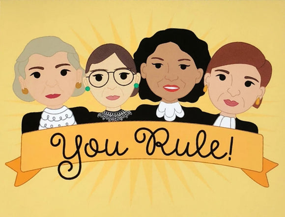 You Rule! - Congratulations/Friendship Card