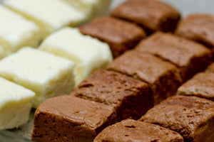 white marble fudge