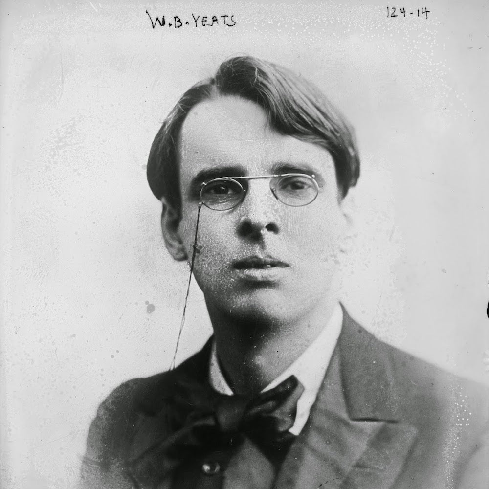 W B YEATS Quote 'Education is Not'