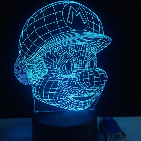 Lampe Super Mario 3D LED - StartiShop