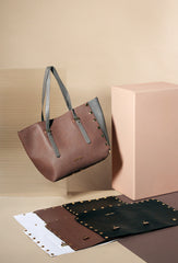 Large tote bag and panels