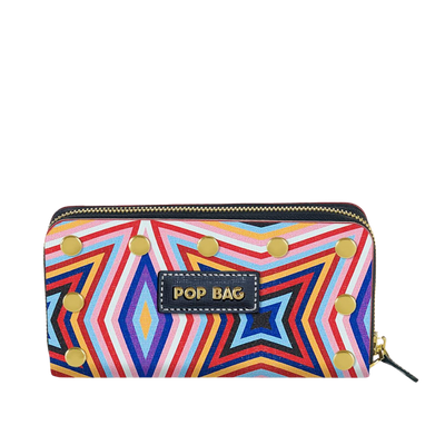 Kaleido Saffiano Leather Wallet Pop Bag USA