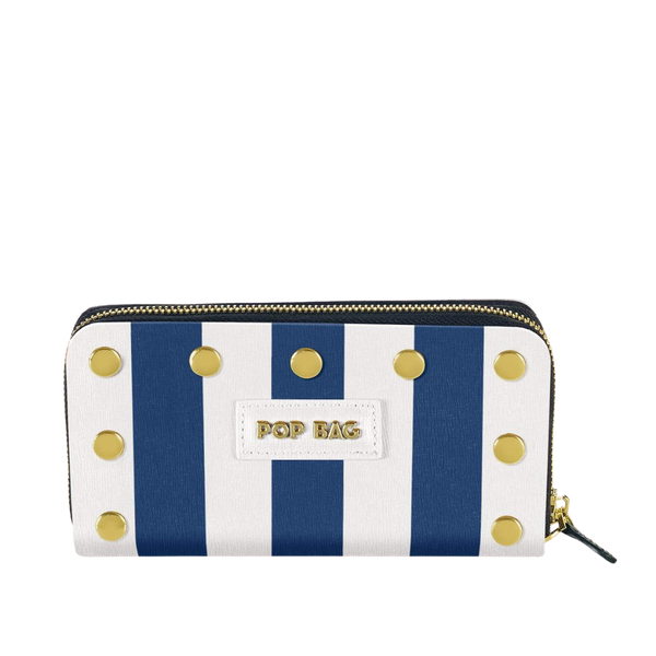 Striped Wallet - Pop Bag USA