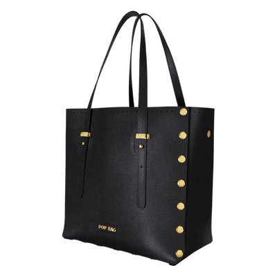 Saffiano Leather Tote Bag - Pop Bag USA