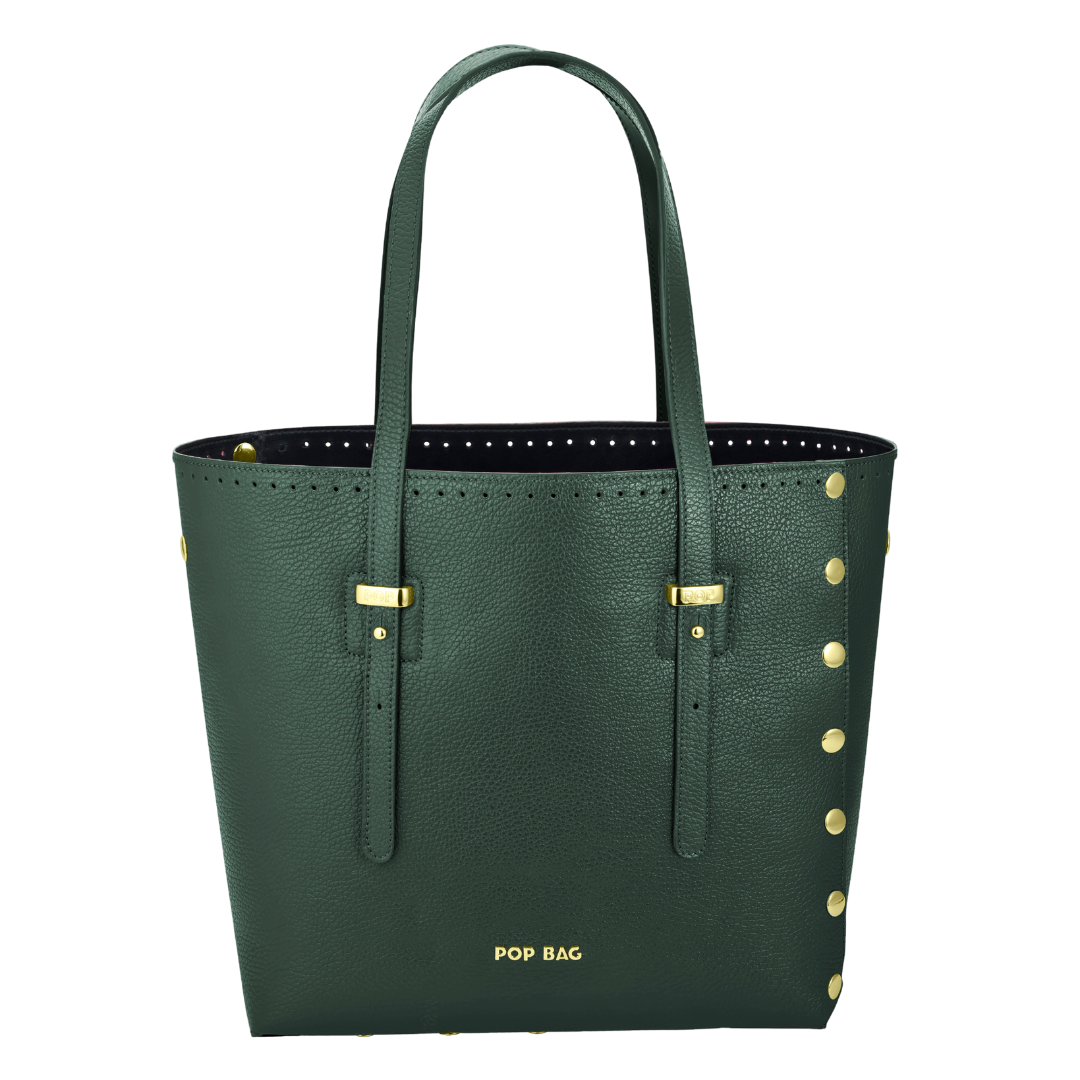 Ruth Pebbled Leather - Pop Bag USA