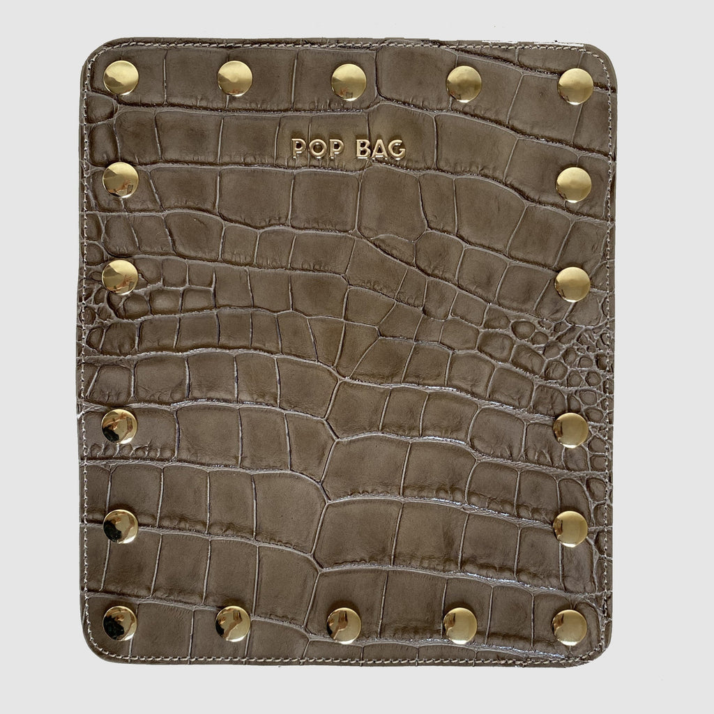 Croc-Embossed Wallet Cover - Pop Bag USA
