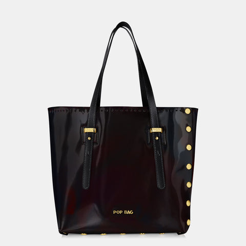 Pop Aurora Bag - Black Iridescent - Medium
