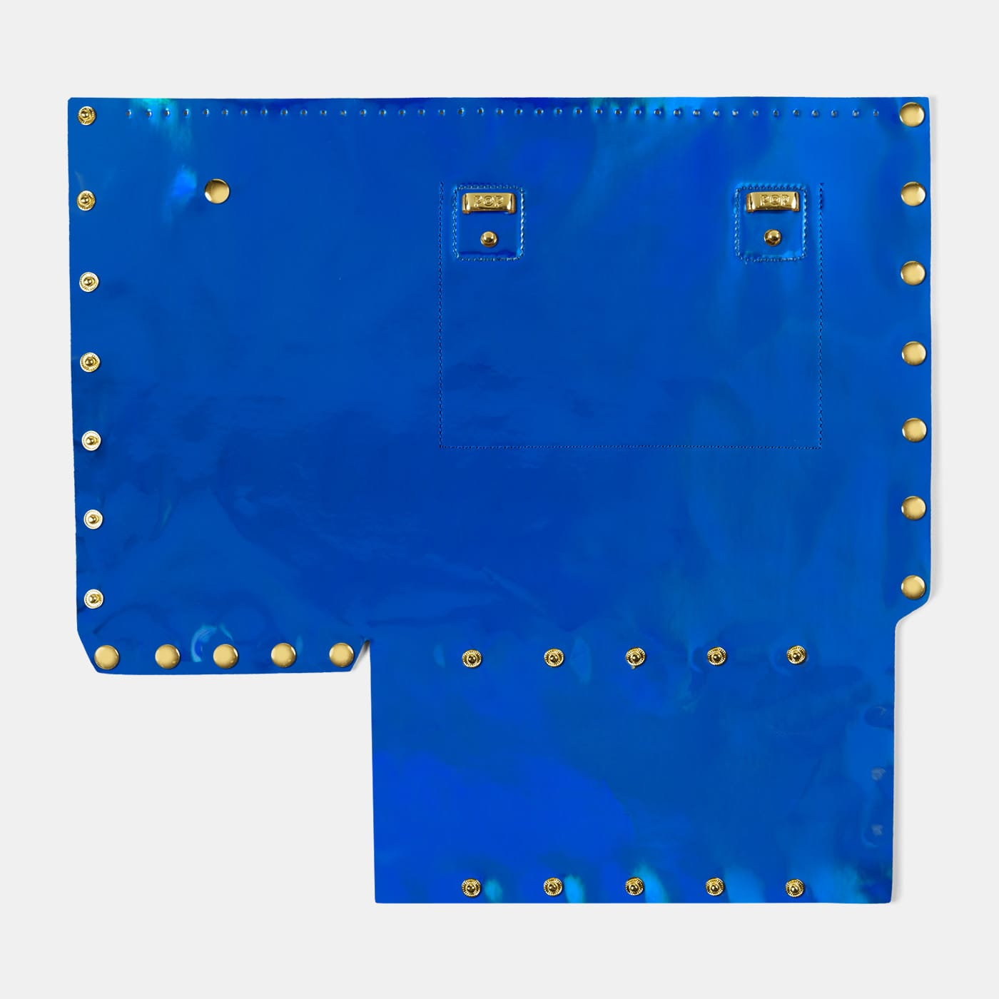 Pop Aurora Back Panel - Electric Blue Iridescent - Medium