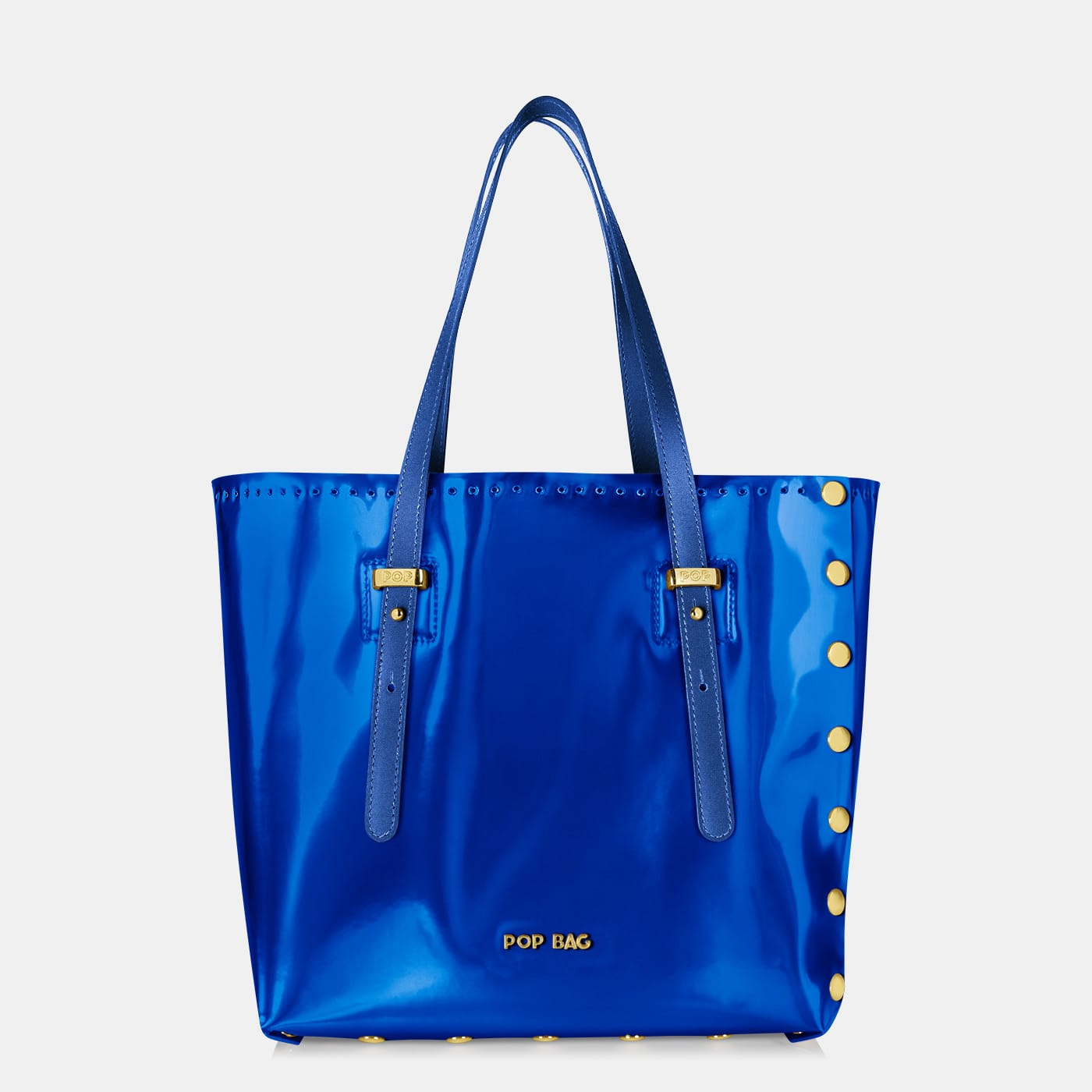 Pop Aurora Bag - Electric Blue Iridescent - Medium