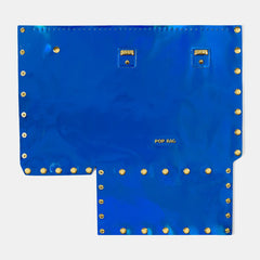 Pop Aurora Front Panel - Electric Blue Iridescent - Medium