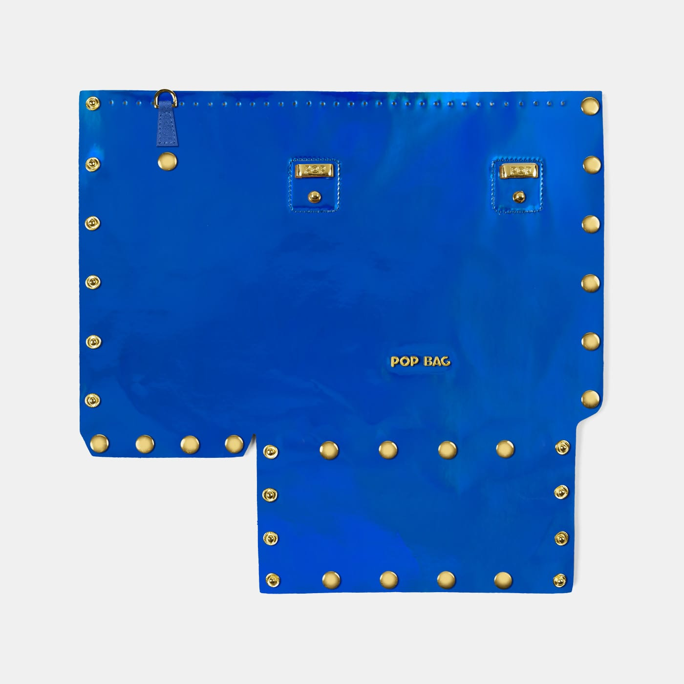 Pop Aurora Front Panel - Electric Blue Iridescent - Small