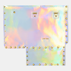Pop Aurora Front Panel - Pearl Iridescent - Large