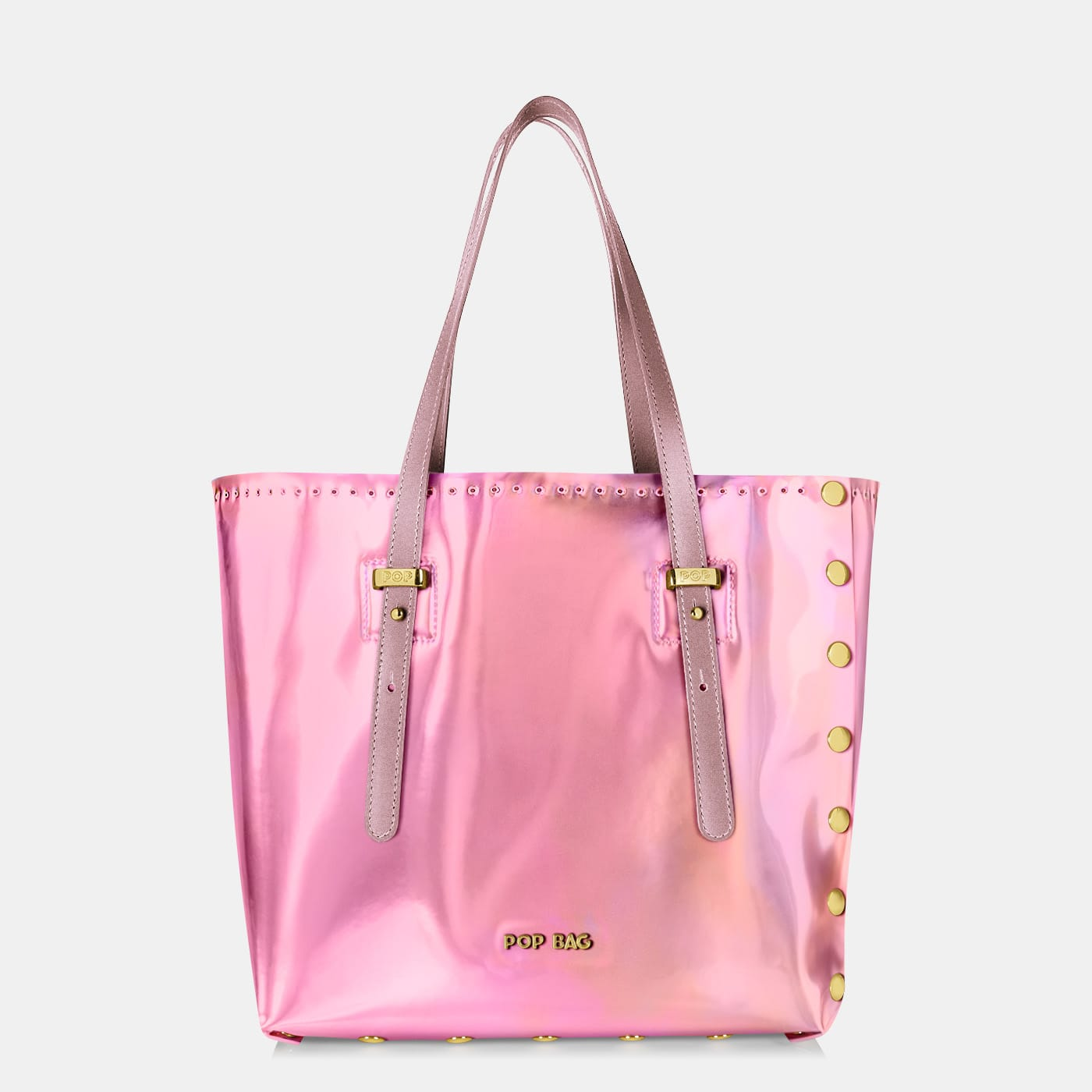 Pop Aurora Bag - Pink Iridescent - Medium