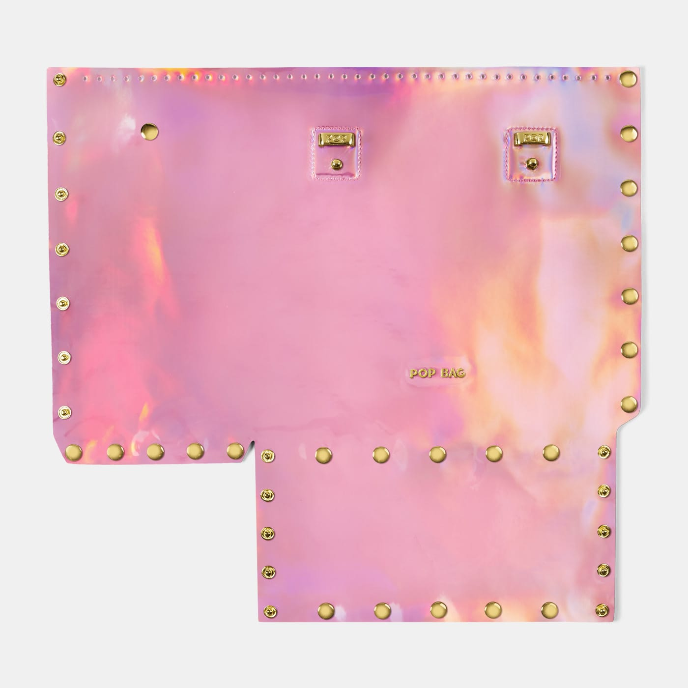 Pop Aurora Front Panel - Pink Iridescent - Medium