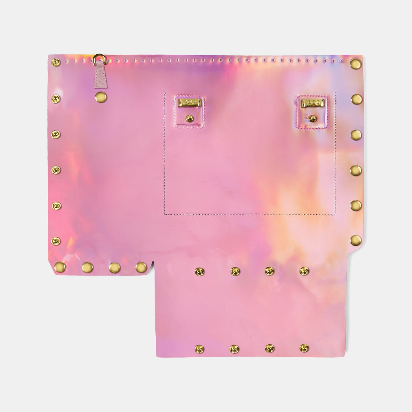 Pop Aurora Back Panel - Pink Iridescent - Small