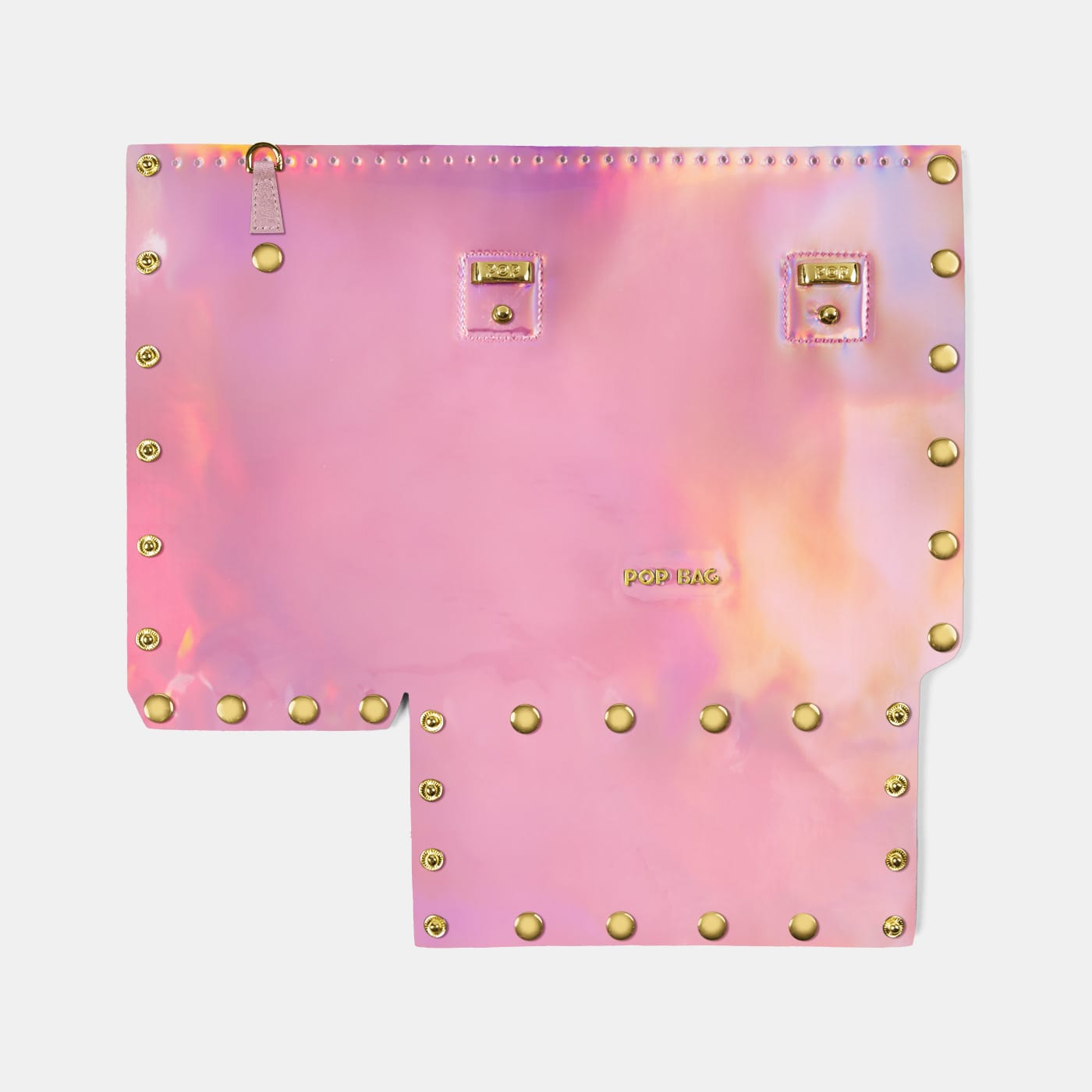 Pop Aurora Front Panel - Pink Iridescent - Small