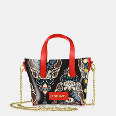 Pop Baroque Mini Bag - Coral Red
