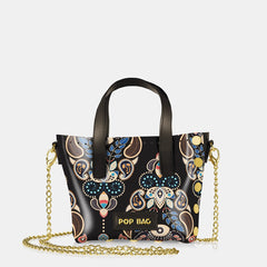 Pop Baroque Mini Bag - Dark Brown