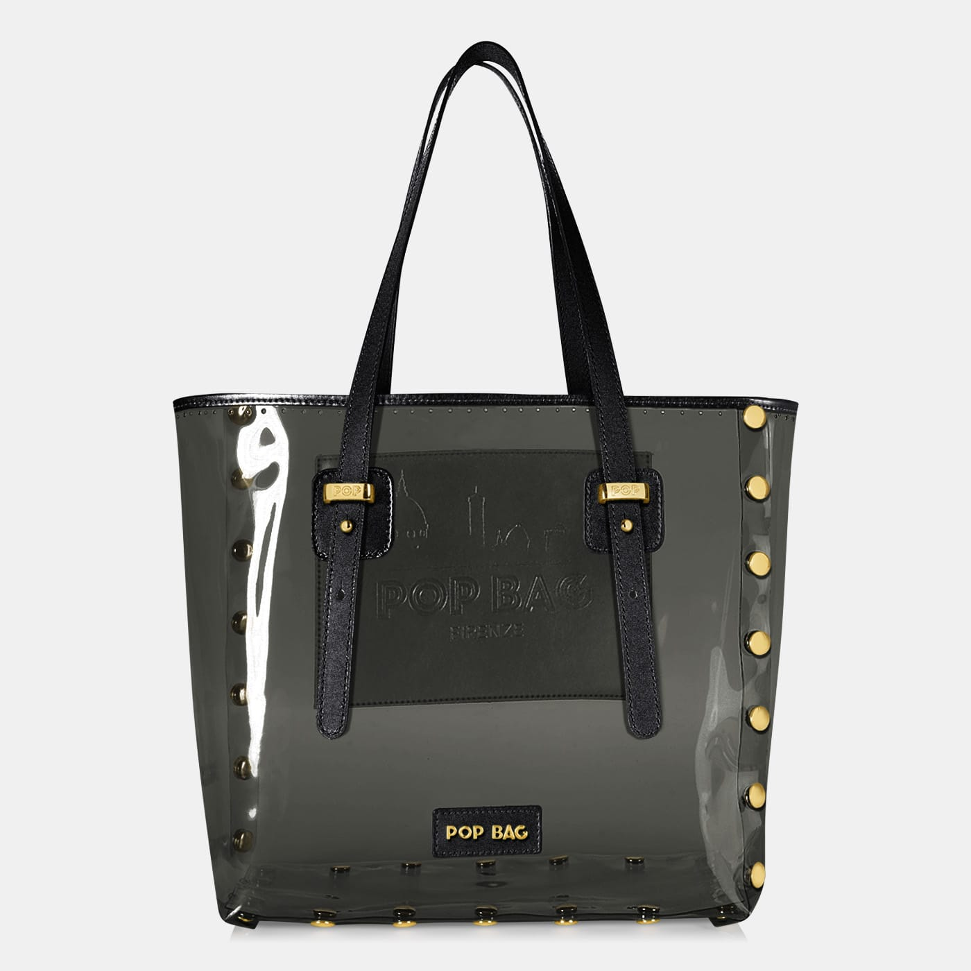 Pop Crystal Bag - Black - Large