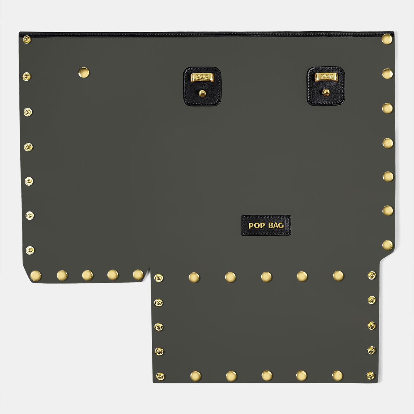 Pop Crystal Front Panel - Black - Large