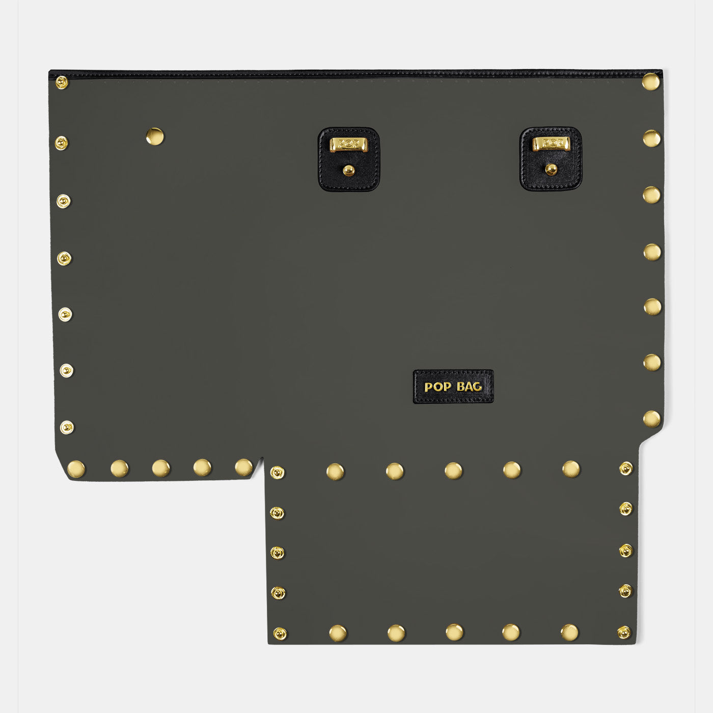 Pop Crystal Front Panel - Black - Medium