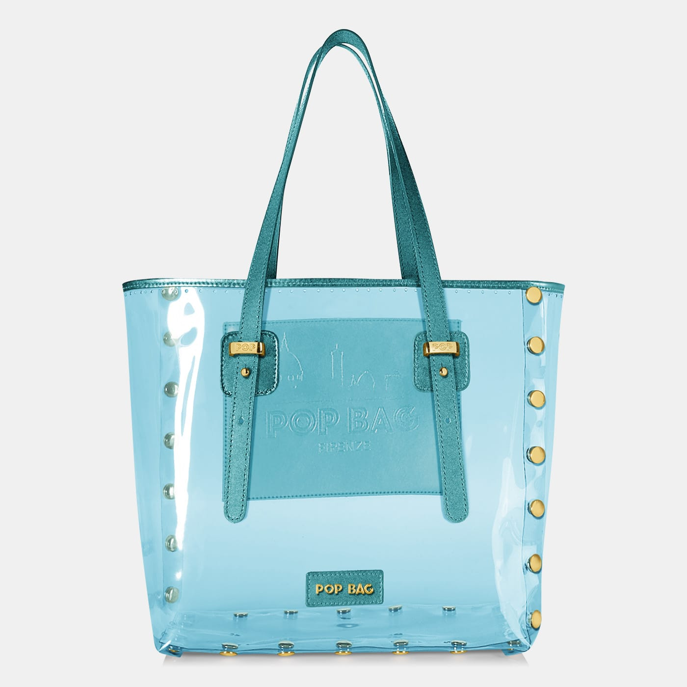 Pop Crystal Bag - Light Blue - Large