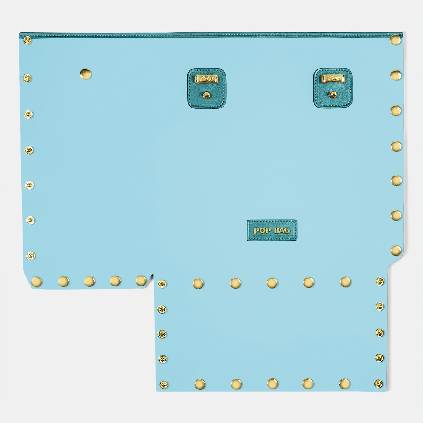Pop Crystal Front Panel - Light Blue - Large