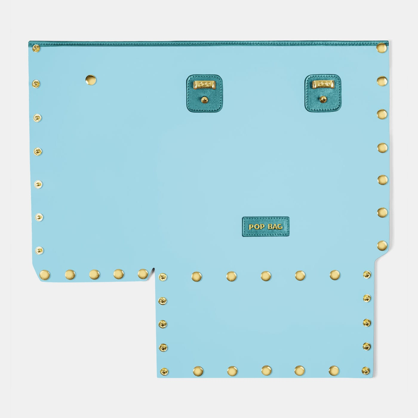 Pop Crystal Front Panel - Light Blue - Medium