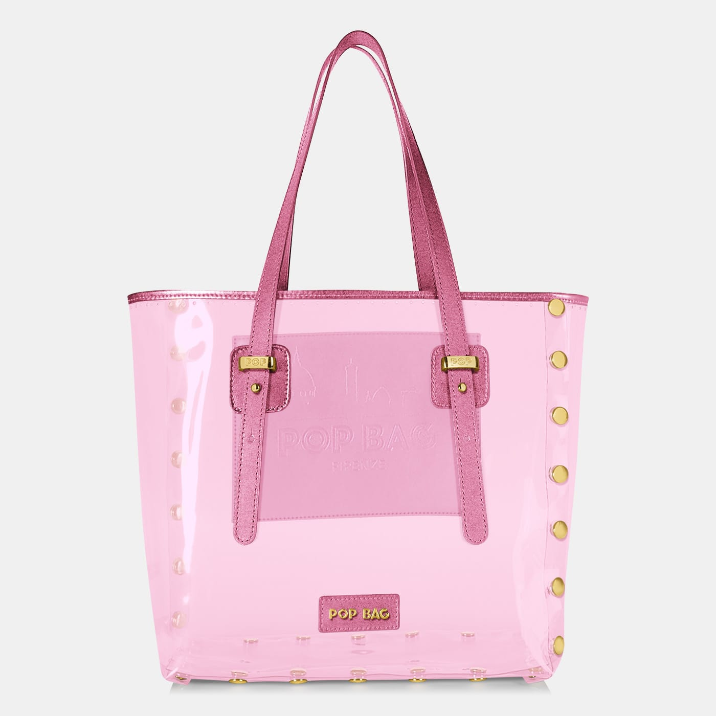 Pop Crystal Bag - Pink - Large