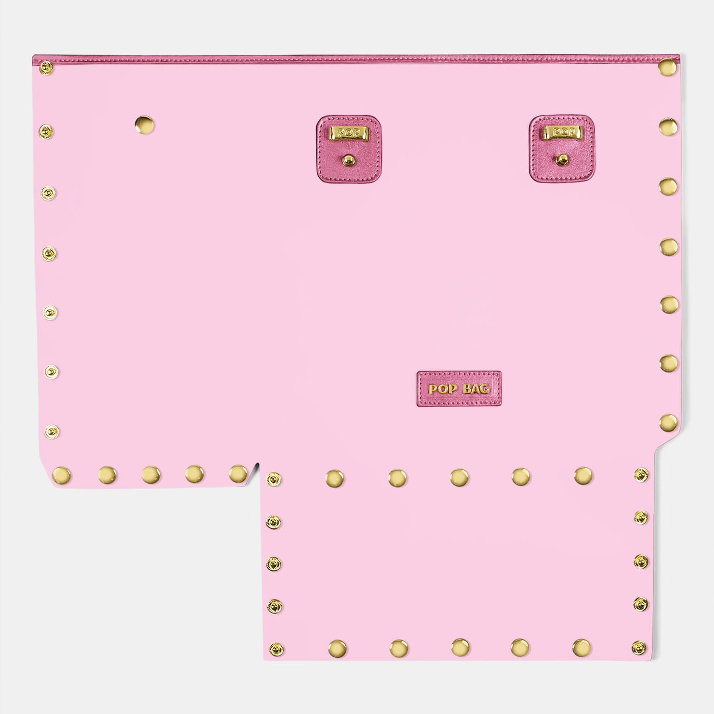 Pop Crystal Front Panel - Pink - Large