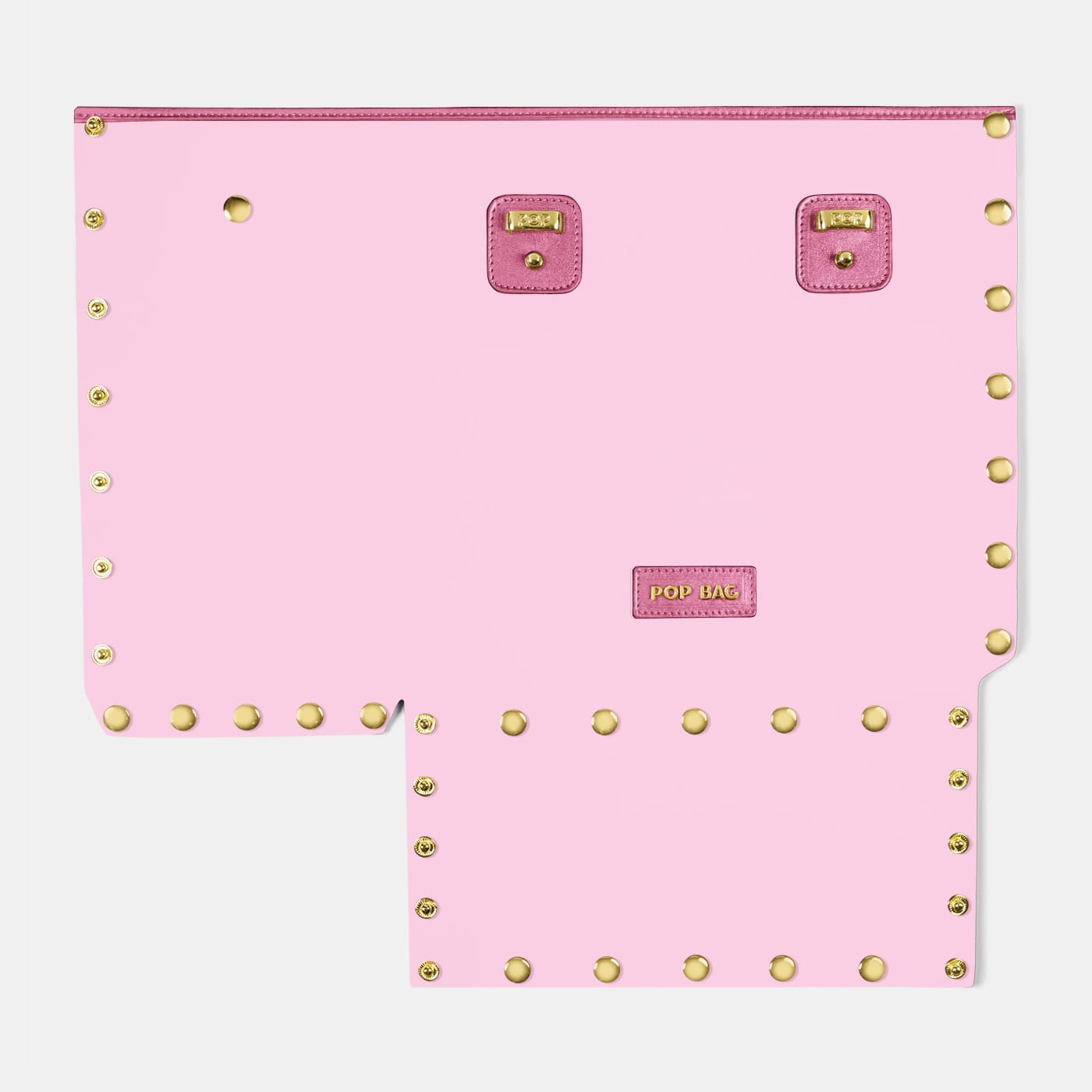 Pop Crystal Front Panel - Pink  - Medium
