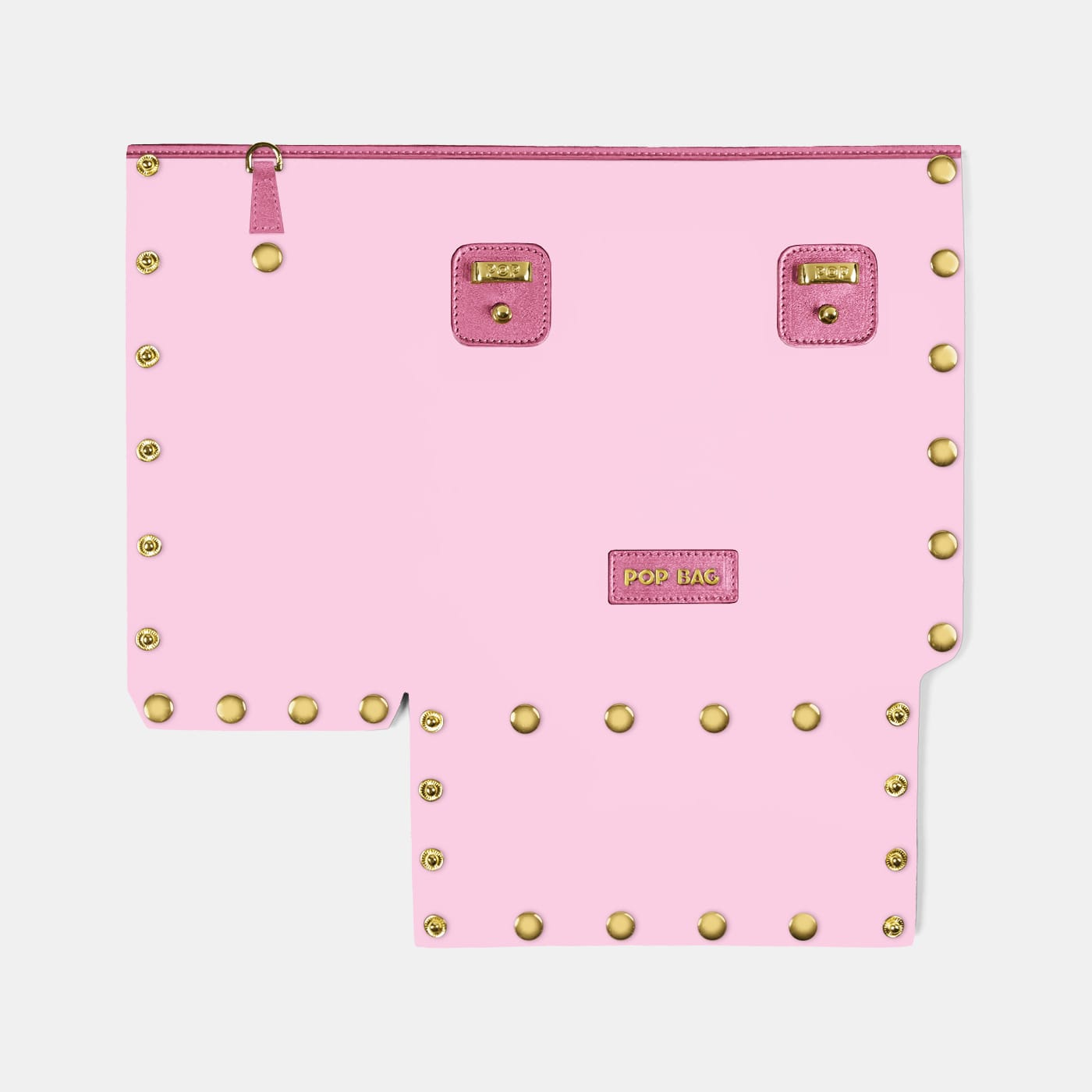 Pop Crystal Front Panel - Pink - Small