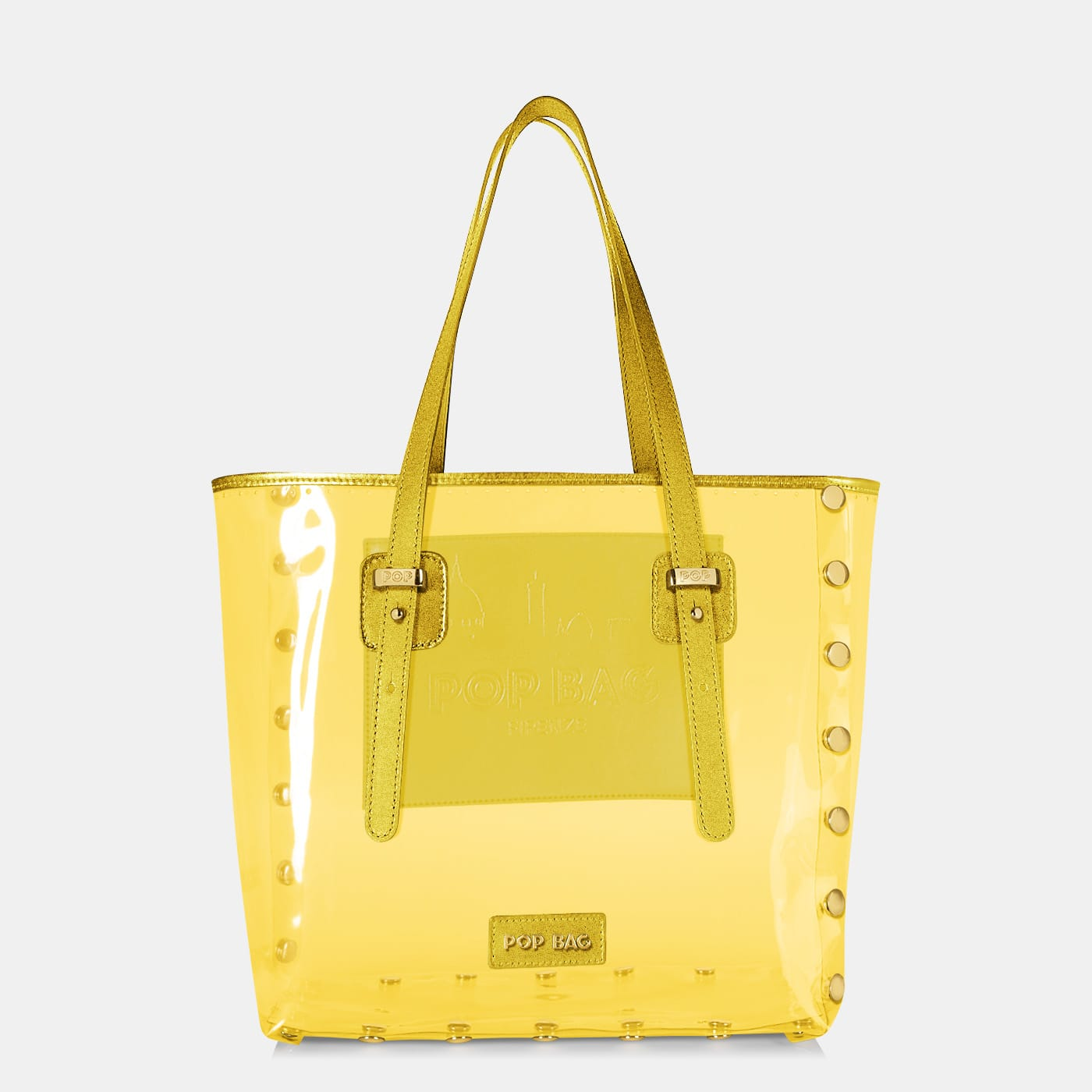 Pop Crystal Bag - Yellow - Large