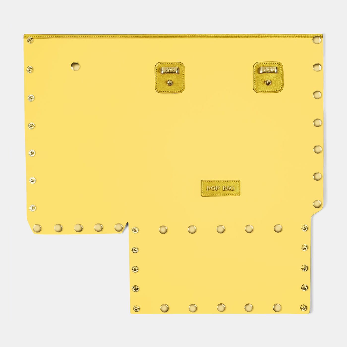 Pop Crystal Front Panel - Yellow - Medium