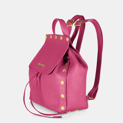 Pop Dolly Backpack - Fuchsia - Side View