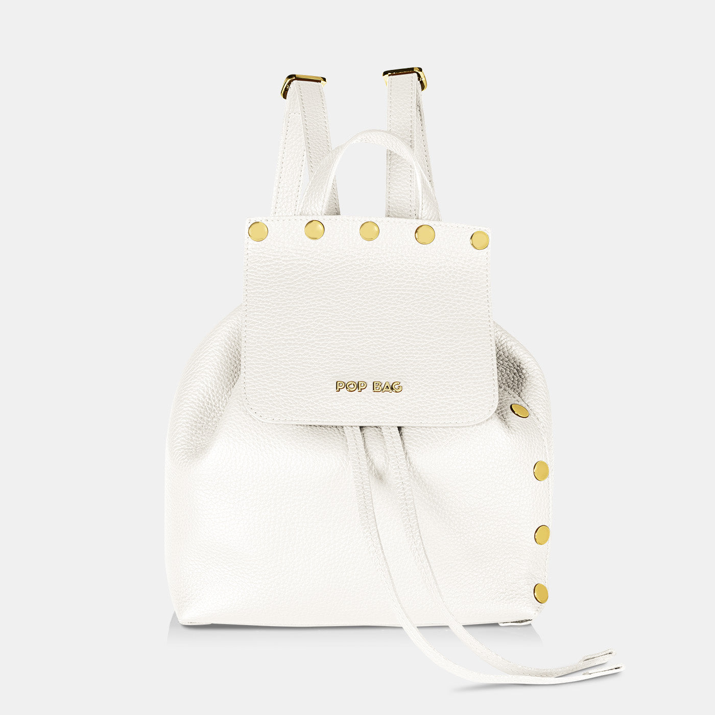 Pop Dolly Backpack - White