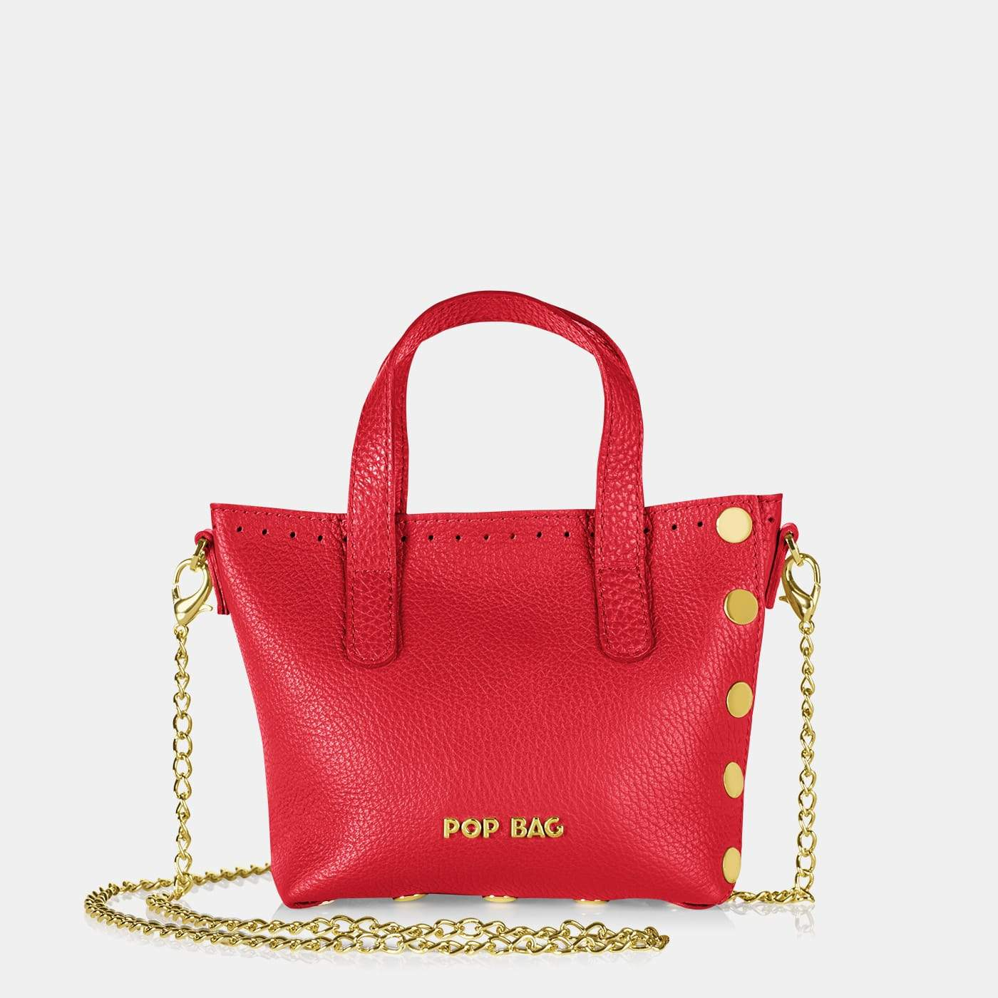 Pop Dolly Mini Bag - Red