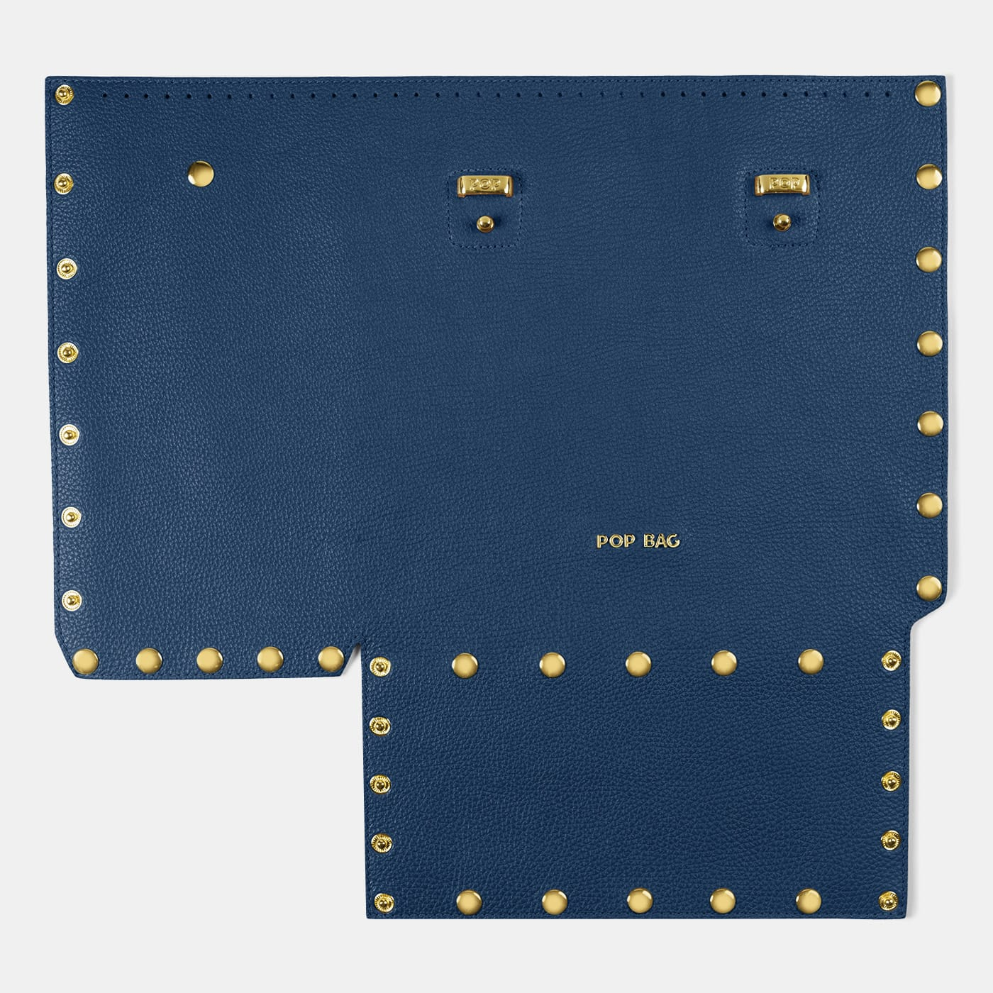 Pop Dolly Front Panel - Blue - Large