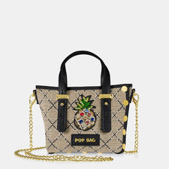 Pop Frida Mini Bag - Black